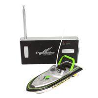 Wholesale Radio Remote Control Super Mini Speed Boat Dual Motor Toy Green Radio RC Super Mini Speed Boat RC toy