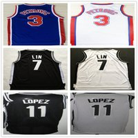 best lin - Cheap Men s Jeremy Lin White Brook Lopez Black Drazen Petrovic BlueThrowback Basketball Jerseys Best Quality