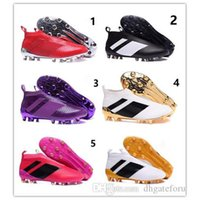 Football Shoes ace brand - 2017 brand ACE PureControl FG kids Soccer Shoes boots Performance kids ace kids soccer football shoes