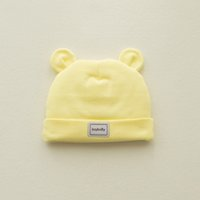 Wholesale New Winter Baby Hat Colors Cotton Boys And Girls Bear Shape Cap Ear Muff Beanies Months Old Baby Hat