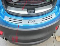 Wholesale 3PCS Stainless Steel Modified Tail Box Guard Plate For Mazda CX