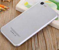bar land - goophone i7 fingerprint mobile G smart phone dual card ultra thin new cell phones watch land rover phone