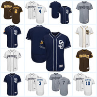 Baseball baseball hunter - 2017 San Diego Padres Jersey Ruddy Giron Clayton Richard Wil Myers Manuel Margot Hunter Renfroe Flexbase Onfiled Jersey