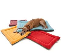 Wholesale pet dog mats pet mats spring summer and winter dog bed pad pet cotton pad