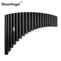 ABS abs instrument case - Pipes ABS plastic Panpipes Musical Instruments Black color Pan flute with Case G Key Easy to Learn