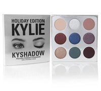 Wholesale Kylie Cosmetics Kyliy Holiday Edition Kyshadow Christmas Eyeshadow KyShadow Palette Colors eyeshadow DHL