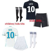 Wholesale Top quality maillot de foot enfants om Olympique de Marseille Kids soccer jerseys LASS shirt shorts socks