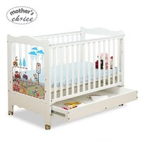 Wholesale Mother s Choice wood baby crib M baby game bed adjustable heights EN standard Guarantee MCC203