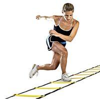 Wholesale Football Training Ladder Durable Nylon Straps rung Feet m Agility Ladder for Soccer Speed Training Fitness Bodybuilding