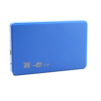 aluminum hard drive cooler - Cool Hi speed USB SATA Portable HDD Hard Disk Drive GB Enclosure HD Box