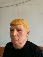 Wholesale Donald Trump Mask Presidential Costume Latex Mask Ideal for Parties Halloween One Size Fit For Most All