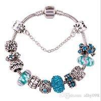 Wholesale Crystal glass crystal bracelet lady diamond bracelet DIY diamond beads