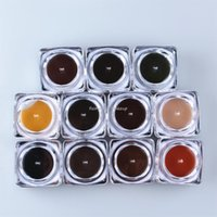Wholesale Permanent Makeup Pigment cream Professional Tattoo Ink For Eyebrow Lips Makeup