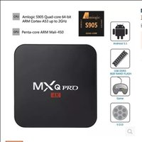 Wholesale top quality MXQ PRO S905 HD internet android quad core bit K TV BOX with RC controller