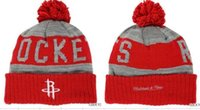 beach houston - HOUSTON Beanies hats Sports Beanie Knitted Hats New Design Team Hats Sports Cap Fashion Beanies Women Men Snapback hats