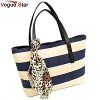 big clutch shop - Vogue Star big canvas striped plaid handbags ladies party clutches women famous designer shoulder shopping bags YK40