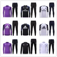 mens training pants - _ soccer tracksuit RM top AAA quality long sleeve Training suit pants football training clothes sports wear mens Sweater