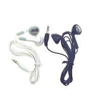 al por mayor apple iphone 4s auricular-Desechable auricular blanco simple auriculares auriculares para iPhone 7 6 6s 6plus más 5 5s 4 4s 3G 3Gs iPod MP3 MP4