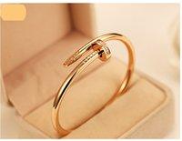 al por mayor joyas para las estrellas-Nail joyas al por mayor brazalete de diamantes modelos de los pares 18k oro rosa pulsera estrella coreana el mismo párrafo que desea