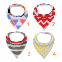 Wholesale Phthalate BPA Lead Baby Bibs Soft Organic Cotton Protect Dry Bibs for Babies with Snap Closures