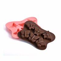Nuovo 6 fori di figura della farfalla della torta del silicone stampi in silicone gelatina Pudding di cioccolato muffa Handmade Soap muffa