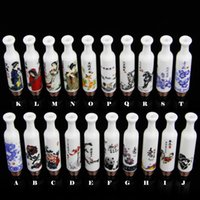 ancient ceramic - Beautiful Chinese Style Drip Tips Long Ceramic Drip Tips China Drip Tips Fit E Cigarette Atomizers Porcelain Chinese Ancient Costume