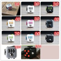 Wholesale Novelty Fidget Cube Toy Stress Relief Focus For Adults and Children Decompression Anxiety Toys
