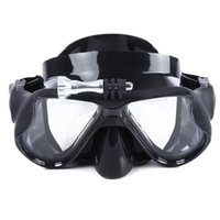 Wholesale Goggles Diving Mask Professional Spearfishing Scuba Silicone Eyewear Swimming Diving Mask Goggles With Plastic Case Colors