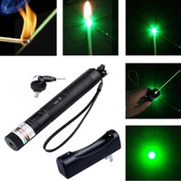 Wholesale Powerful Green Laser Pointer Pen Visible Beam Light mW Lazer High Power n GG