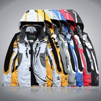Wholesale Fashion Men s outdoor sportwear ski jacket men ski suit windproof waterproof skiing clothing