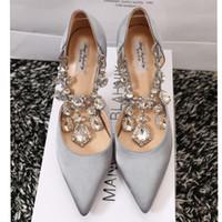 Pumps ballet shoes price - factory price platform pointed toe high heel diamond women dress bride wedding shoe