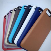 apple back packs - For Iphone Official Leather case Original Slim PU Leather Back Covers Cases for IPhone s s Plus With Retail Packing