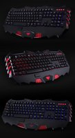 bar game machine - 2016Tarantula darkspawn Jianmo tricolor backlight keyboard PS2 keyboard keyboard handle bar cable game machine