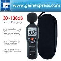 ac tester line - SLM Professional Decibel Meter Tester Digital Sound Level Meter dB dB Max Min Hold Hand hold LCD Backlight AC DC line Include