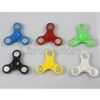 Wholesale Cheapest Tri Spinner Fidget Toy Plastic EDC Hand Spinner For Autism and ADHD Anxiety Stress Relief Focus Finger Gyro Toys Kids Gift Colorful