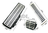 Wholesale pedal steel guitar For LHD VW Golf MK6 Jetta MK5 Scirocco Octavia Stainless Steel Automatic DSG AT Car Pedal