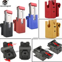 Wholesale Tactical Big Dragon IPSC Ghost Pistol Magazine Pouch GLOCK USP Black Red Blue Yellow