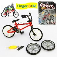 adult bmx bikes - Finger Action BMX Alloy Toy Functional Kids Minibicycle Model mini finger bmx Set Bike Functional Adult Novelty Fans Toy Gift