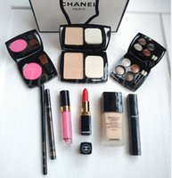 Wholesale Cheap Brand High Quality Eye Shadow Eyeliner Mascara Lipstick Lip Gloss Blush Foundation Pieces makeup set