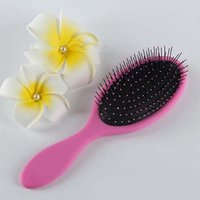 Wholesale 2015 new No Hair Knit hair brush for wet hairShower Brush Combs Detangling Hair Brush Fashion Item for Women girl with retail package