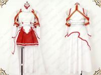 achat en gros de art en ligne sao asuna cosplay-Swami Art en ligne SAO Asuna Asuna Yuki Costume cosplay Anime toute taille