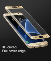 best privacy screens - World s First Best Anti spy Privacy Tempered Glass Full Cover Edge Screen Protector For S6 S7 Edge D Curved Colorful Privacy Film Screen