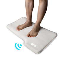 Wholesale Pressure Sensitive Alarm Clock Bedroom Rug Carpet for Lazy Fellow Only Stops When You Stand on it