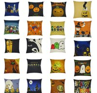 Wholesale style pattern thick cotton pillow case literature X45cm not include pillow
