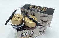 beauty cakes - Makeup Kylie jenner Eyeliner Double Color Eyeliner Cake Gei Eyeliner VS Kylie mascara Huda Beauty eyeshadow DHL