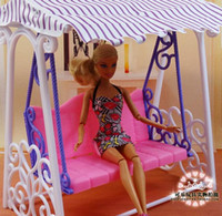 american doll furniture - Fashion Swing set for Barbie doll American girl doll toy house furniture accessories