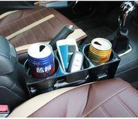 Wholesale 1pcs Car Seat Gap Storage Box Pocket in Drink Holder Leak Proof Storage Box Car Cup Holder Seat Side Organizer