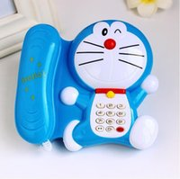 Wholesale Children s toys baby smart early childhood music lights duo la a dream cartoon phone years old children puzzle