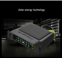 Wholesale TPMS Solar Tire Pressure Monitoring System Car Wireless LCD Display Built in sensor Internal Sensor Real time Tyre Security