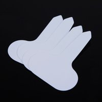 Wholesale LS4G White Plant Tag T type Plastic Nursery Garden Plant Label Flower Thick Tag Mark